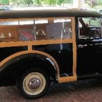 Classic Morris Minor Hearse