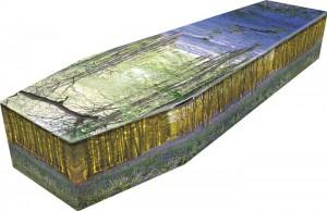 Bluebell Coffin