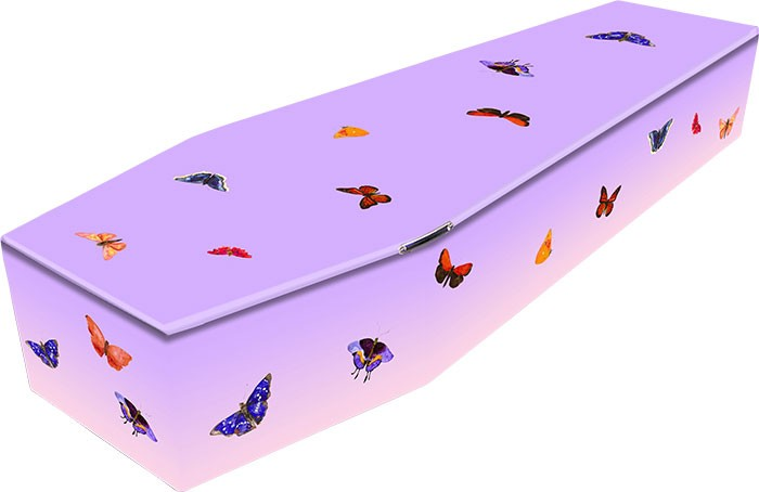 Butterfly Coffin