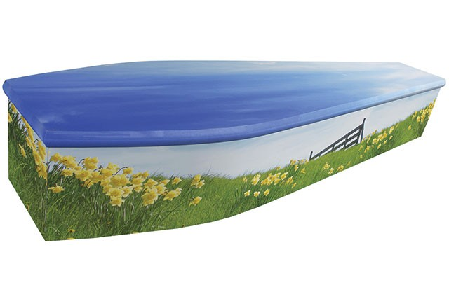 Daffodils Coffin