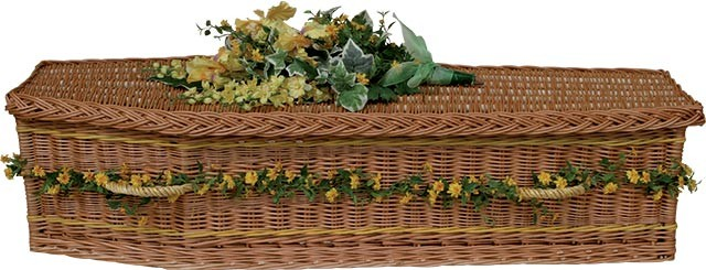 Willow Woven Coffin